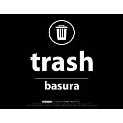 Recycle Across America Trash Standardized Recycling
