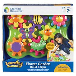 Learning Resources Jr Gears Flower Garden