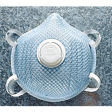 ALTERNATE SHAPE N95 PARTICULATE RESPIRATOR