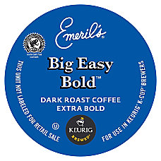 Timothys World Coffee Pods Emeril Bold