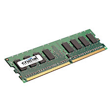 Crucial 2GB 240 pin DIMM DDR2
