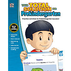 Thinking Kids Your Total Solution Workbook