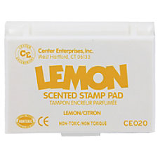 Center Enterprise Scented Stamp Pads Lemon