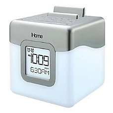 iHome Portable Clock Radio Apple Dock