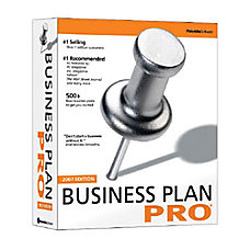 Business Plan Pro 2007 Traditional Disc