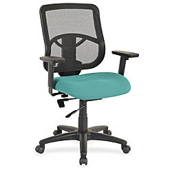 Lorell Managerial Mid back Chair Fabric