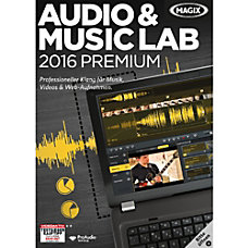 MAGIX Audio Music Lab 2016 Premium