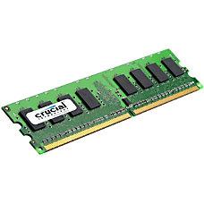 Crucial CT25672AA80E 2GB DDR2 SDRAM Memory
