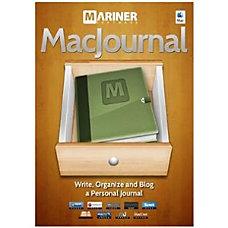 Mariner Software MacJournal v60 License 1
