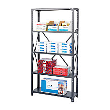 Safco Commercial Steel Shelf Pack 75