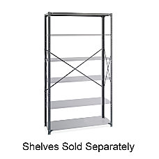 Safco Industrial Steel Shelving Post Kit