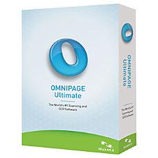 Nuance OmniPage v190 Ultimate Upgrade Package