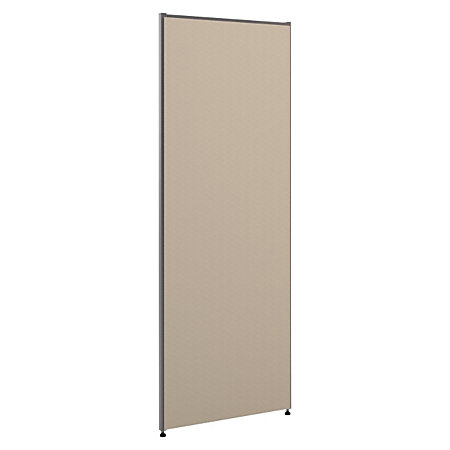 basyx by hon vers partition gray fabric 72 h x 30 w by