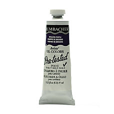 Grumbacher P061 Pre Tested Artists Oil