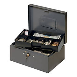STEELMASTER Cash Box With Safety Latch