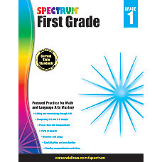 Spectrum Language Arts And Math Workbooks