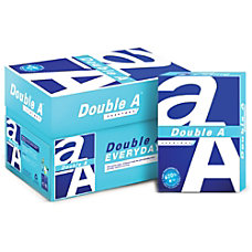 Double A Everyday Copy Multipurpose Paper
