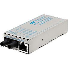 miConverter 10100 Ethernet Fiber Media Converter