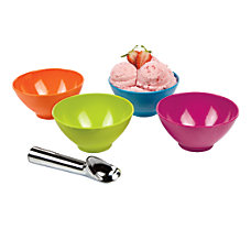 iGnite Ice Cream Bowl Set With