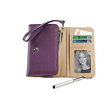 Crown Wristlet Phone Wallet And Stylus