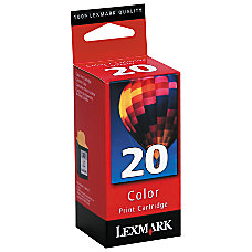 Lexmark 20 15M0120 Color Ink Cartridge