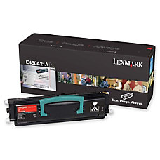 Lexmark E450H21A Black High Yield Toner
