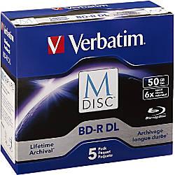 Verbatim Blu ray Recordable Media BD