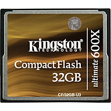 Kingston Ultimate CF32GB U3 32 GB