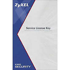 ZyXEL iCard Content Filtering 2 Year