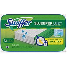 Swiffer Sweeper Wet Cloths Cloth 144