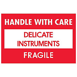 Tape Logic Fragile Labels Handle With