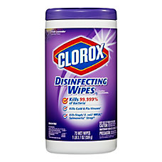 Clorox Disinfecting Wipes Lavender Scent Pack