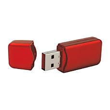 Ativa MicroSD Card Reader Red