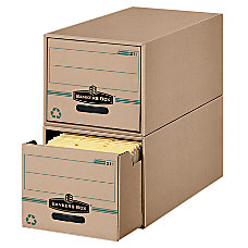 Bankers Box StorDrawer Earth Series 100percent