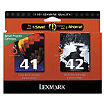 Lexmark 4142 18Y0238 BlackColor Ink Cartridges
