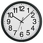 Tempus Commercial Clock BlackWhite