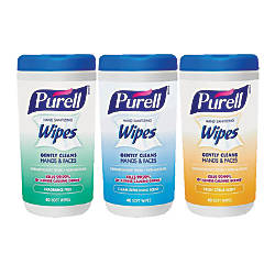 Purell Hand Sanitizing Wipes Variety Scent