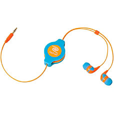 ReTrak Retractable Neon Blue and Orange