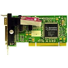 Brainboxes 2 port uPCI SerialParallel Combo
