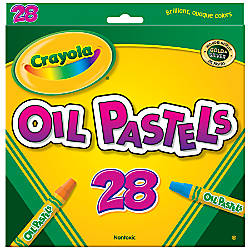 Crayola Oil Pastels 28 Colors