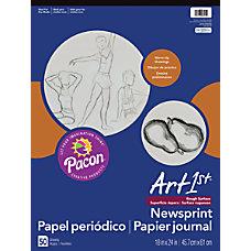 Pacon Art1st Newsprint Pad 18 x