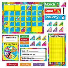TREND Year Around Calendar Bulletin Board