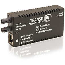 Transition Networks Mini Fast Ethernet Media