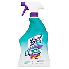 Lysol Antibacterial Kitchen Cleaner Spray 025