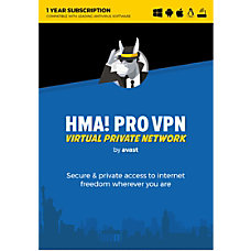 Avast HMA PRO VPN 2018 Unlimited
