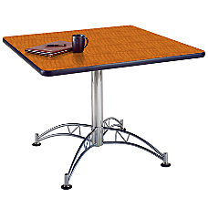 OFM Multipurpose 42 Square Table Cherry