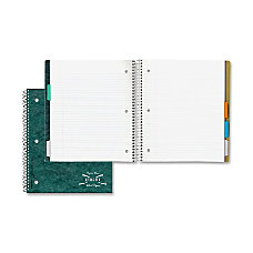Rediform National Pressboard 5 Subject Notebook