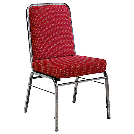 OFM ComfortClass Heavy Duty Stack Chairs 35 12 H X 19 12 W X 24 D Pinpoint Wi