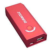 Duracell Portable Power Bank With 4000
