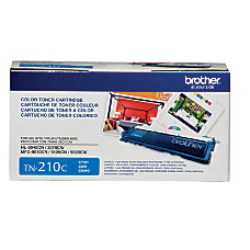 Brother TN 210C Cyan Toner Cartridge